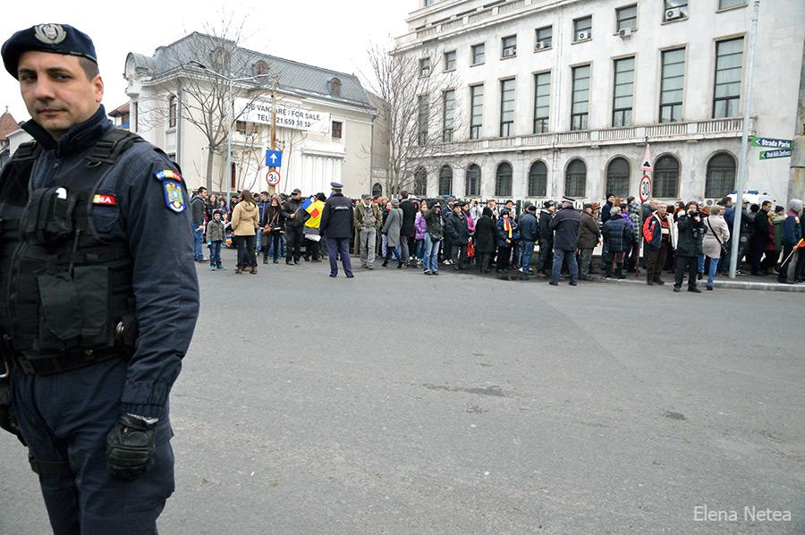 Flash mob la Guvern