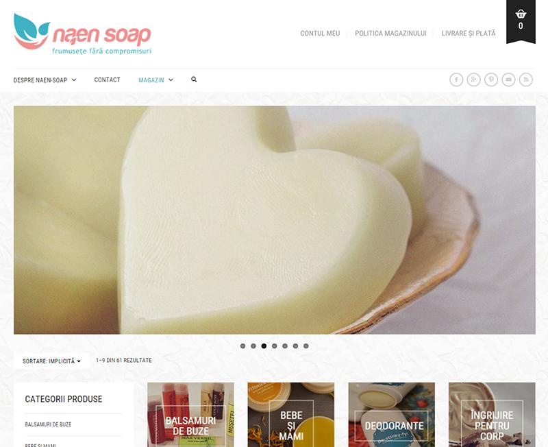 Redesign: Naen-Soap.com
